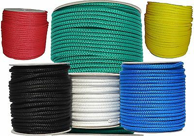 Poly Rope Line Tie Washing Clothes Pulley Strong Polypropylene Various Sizes
