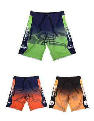 NFL Football Team Logo Mens Summer Board Shorts Swimsuit - Pick Your Team!
