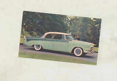1956 Dodge Custom Royal Lancer 4 Door ORIGINAL Factory Postcard wu9832