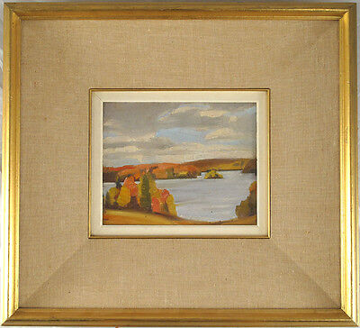 Oil/Panel Canadian Attributed to J.E.H. MacDonald (1873-1932)Group of Seven qqoo