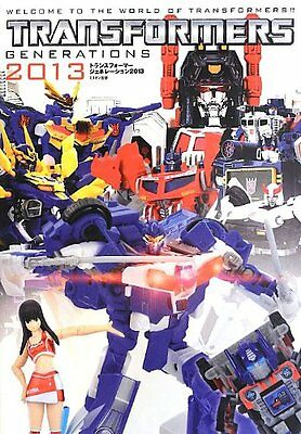 Toy Figure Photo Art Book Transformers Generation 2013 Japan