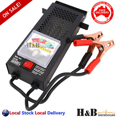 Battery Load Tester 6V 12V Volt 100 AMPTruck Boat Bike Car Battery Tester C0140