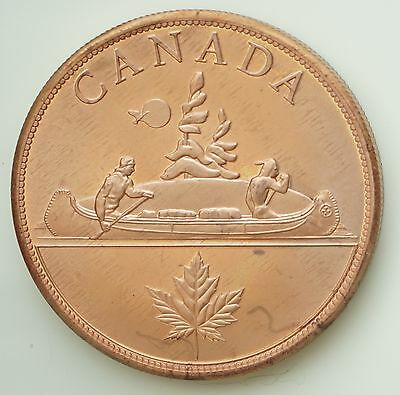 1936 Canada Edward VIII Proof Pattern Dollar Pure Copper Piedfort Only 12 Minted