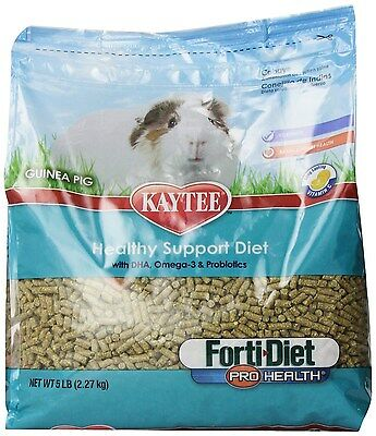 Kaytee Forti Diet Pro Health Guinea Pig Food Size: 5-Pound 100502082 NEW AOI
