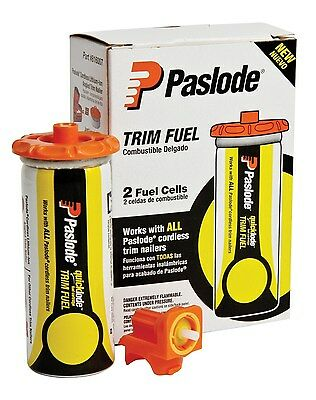 Paslode 816007 Universal Short Yellow Trim Fuel, 2-Pack by Paslode (BRAND NEW)