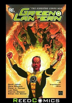 GREEN LANTERN THE SINESTRO CORPS WAR GRAPHIC NOVEL Paperback #21-25 Corps #14-19