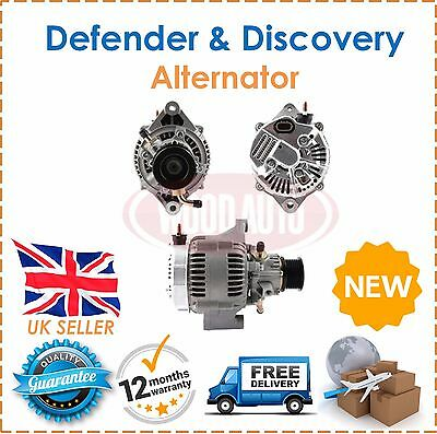 Alternator 120A & Pump Fits Land Rover Defender & Discovery 2.5 TD5 Diesel  NEW!