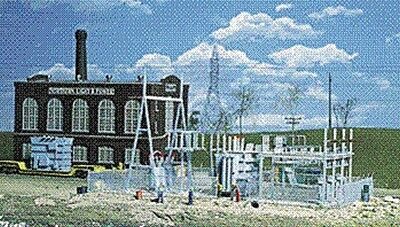 Walthers 933-3025 Cornerstone Kit HO Scale Northern Light & Power Substation