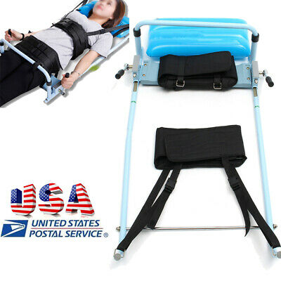 Cervical Spine Lumbar Traction Device Lengthwise bones Massage Bed For Neck CE