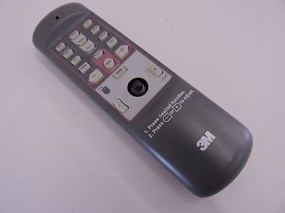 3M VISUAL SYSTEM DIVISION Ver. 1.0 Projector remote