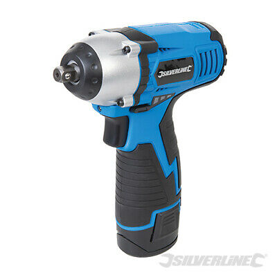 """Heavy Duty 10.8V Lithium Ion 3/8"""" Drive Cordless Impact Wrench Ratchet In Case"""