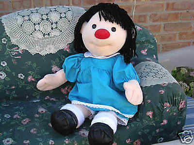 """Big Comfy Couch Plush Molly Doll 30"""" Huge 1995 EXC Clean"""