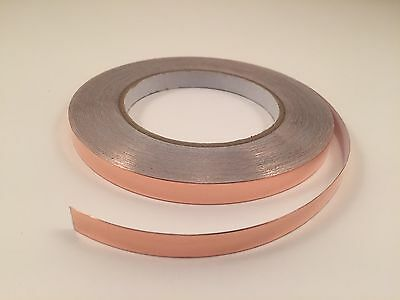 10mm x 30M yards Copper Foil Tape- EMI Shielding- Conductive-99'