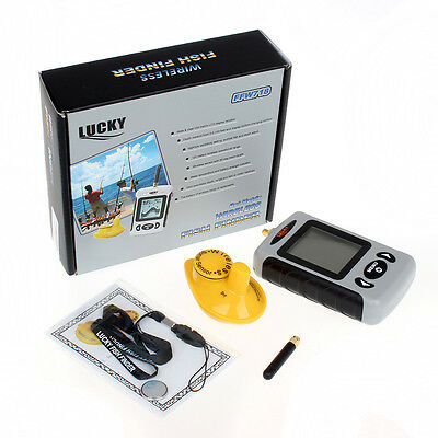 Wireless Fish Finder. Sonar, Aerial. Carp. fish, features. Depth. + FREE Gift