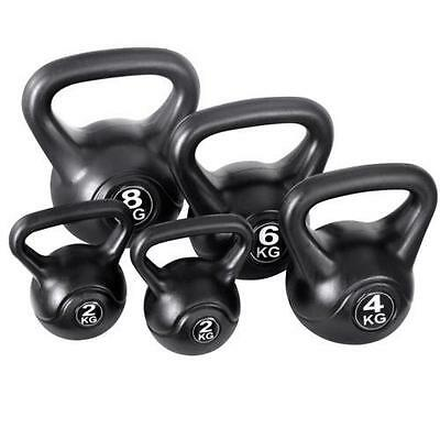 Set of 5 Kettle Bell Weights Gym Fitness Workout Building Strength Training 22k