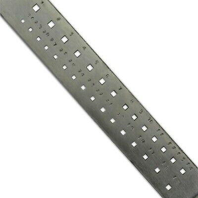 """8"""" Drawplate SQUARE 30 Holes pulling wire shaping jewellery craft tool"""