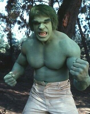 Lou Ferrigno ** The Hulk ** Tv Series 8X10 Glossy Photo Picture - Must Have!