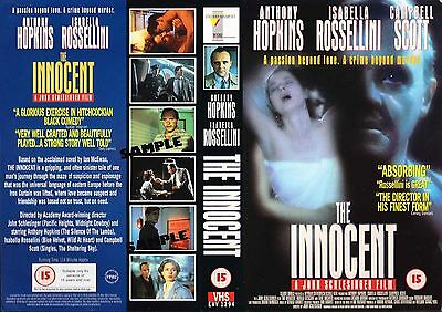 The Innocent, Anthony Hopkins Video Promo Sample Sleeve/Cover #14161