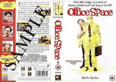 Office Space, Jennifer Aniston Video Promo Sample Sleeve/Cover #14159