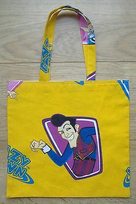 Lazytown Childrens Cotton Shopping bag / book bag /  Tote Bag