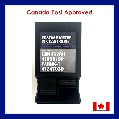 4102910P Postage Ink Cartridge for Neopost IJ70 Postage Meter - STA85185 Red Ink