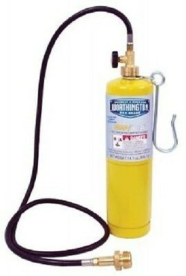 Propane Torch Hose Extension Kit, 5 foot with belt hook, disposable tank threads