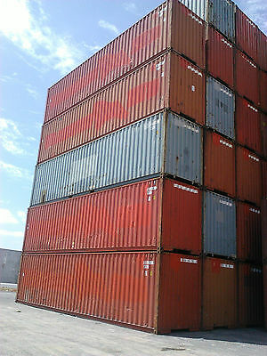 Shipping Container 40ft HC Solid very good condition.