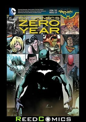 DC COMICS ZERO YEAR GRAPHIC NOVEL Paperback Collects Zero Year Crossover Issues