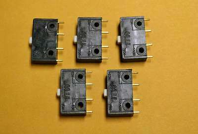 """Qty 5  ITW 16 SERIES """"USA Made"""" Micro Switch 10.1 AMP Double-Break Snap Action"""