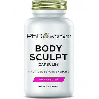 PhD Woman Body Sculpt Lean Degree 60 Capsules Fat Burner Pill Weight Loss Tablet