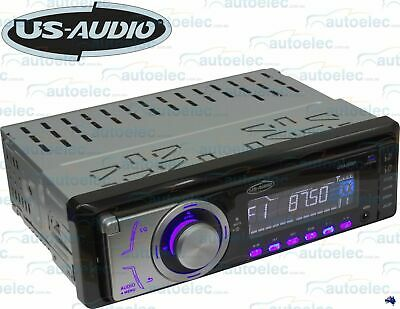 Us Audio Usa200Ip Car Stereo Audio Player Mp3 Usb Sd Aux Ipod Iphone Fm Radio