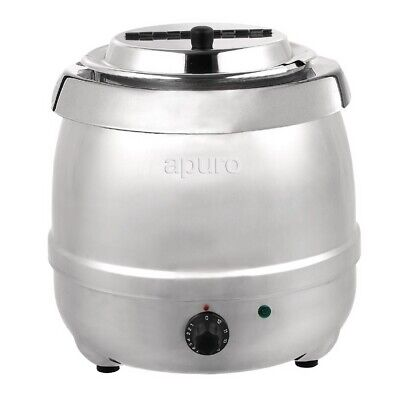 Soup Kettle / Warmer, Stainless Steel, Commercial Quality, 10L, Sauce, Apuro