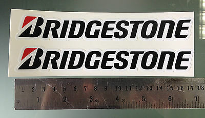 Decal Stickers Bridgestone for Fairing / Swingarm - 170mm x 25mm (PAIR)