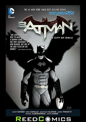BATMAN VOLUME 2 THE CITY OF OWLS GRAPHIC NOVEL New Paperback Collects #8-12