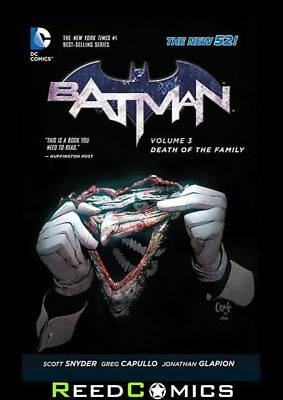 BATMAN VOLUME 3 DEATH OF THE FAMILY GRAPHIC NOVEL New Paperback Collects #13-17