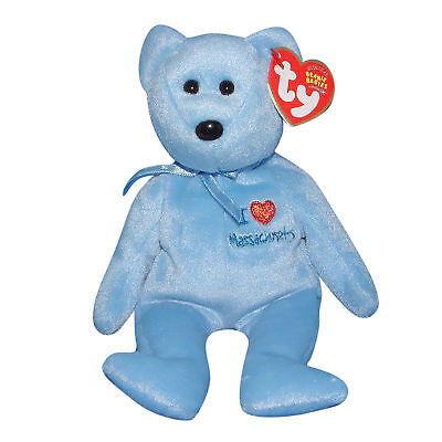 I Love Wisconsin ~ State Exclusive Ty Beanie Baby ~ WISCONSIN the Bear MWMT