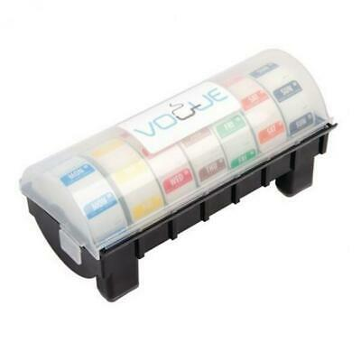 Kitchen Day Dots Removable Blank Sticker Label Set Dispenser 7 Day Use By Rolls