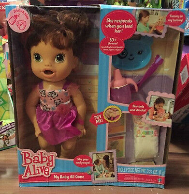 Hasbro Baby Alive My Baby All Gone Doll 3+ - Damaged Box