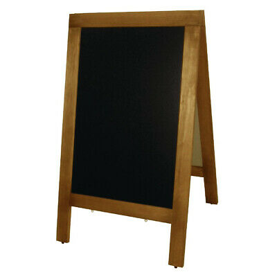 Pavement Board Menu & Specials Large A Frame Sign 700x1200mm Chalkbaord Signage