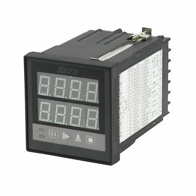 AC 220V 1-9999 Panel Mount Count Up Down Digital Counter Relay ZN72