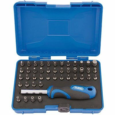 Universal 45 Piece Security Bit Set Staight Star Philips Hexagonal Magnetic