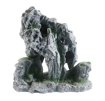 Heritage Hb013 Aquarium Fish Tank Stepped Rock Formation Cave Ornament 16Cm
