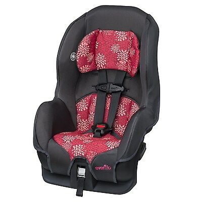 Evenflo Tribute LX Convertible Car Seat - Pink Mums [38111710] BRAND NEW