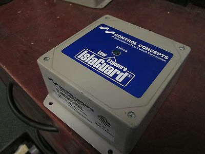 Control Concepts Low Exposure IslaGuard Surge Filter IL480D50-SNL 480V 3Ph Used