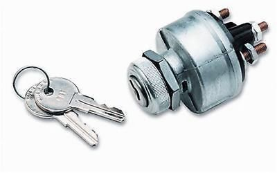 Ignition Switch g Heavy Duty 4 Position Keyed Aluminum Bezel universal