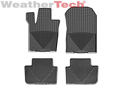 WeatherTech All-Weather Floor Mats for Jeep Grand Cheokee - 2013-2015 - Black