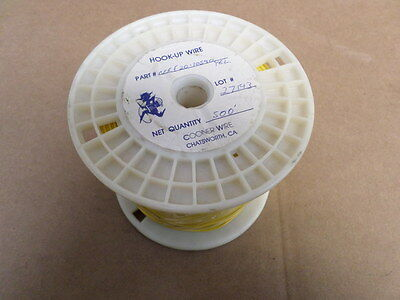 Cooner Wire NEF20-10540 Yellow Hook-Up Wire