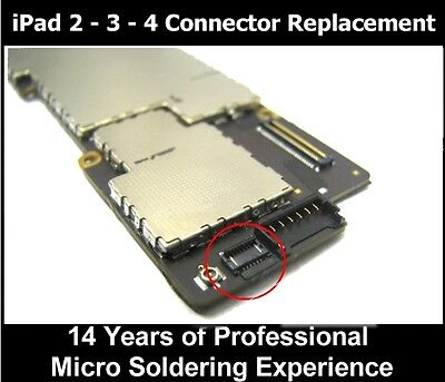 Apple iPad 4  HOME BUTTON  cable FPC CONNECTOR REPAIR SERVICE 6 PIN
