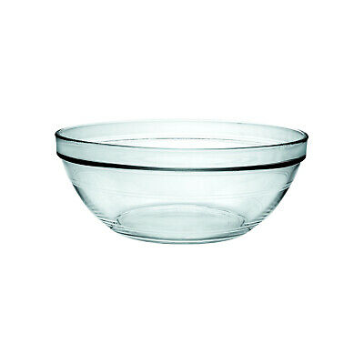6x Glass Bowl 120mm 310ml Duralex Lys Toughened Glass Stackable Condiment SMALL