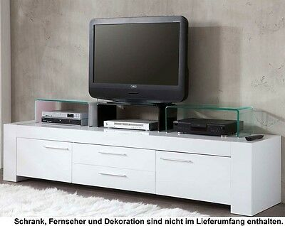 Attachment Glass cabinet Undercounter glass TV Stand Fernsehschrank Plate modern